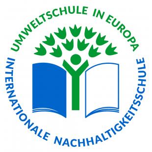 Logo: Umweltschule in Europa, Internationale Nachhaltigkeitsschule