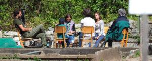 Unser Schulgarten im Frühjahr