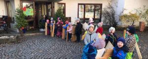 """Fleißige Handwerker"" im Kindergarten"
