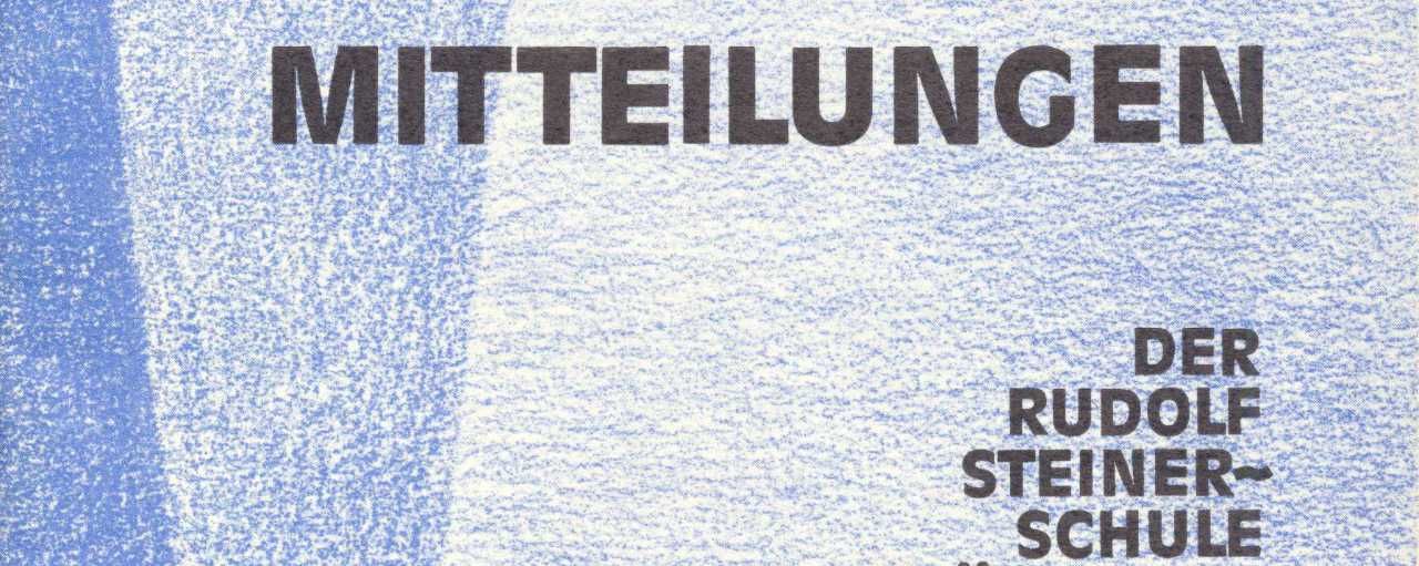 Schulgeschichte: Mitteilungen Juli 1973